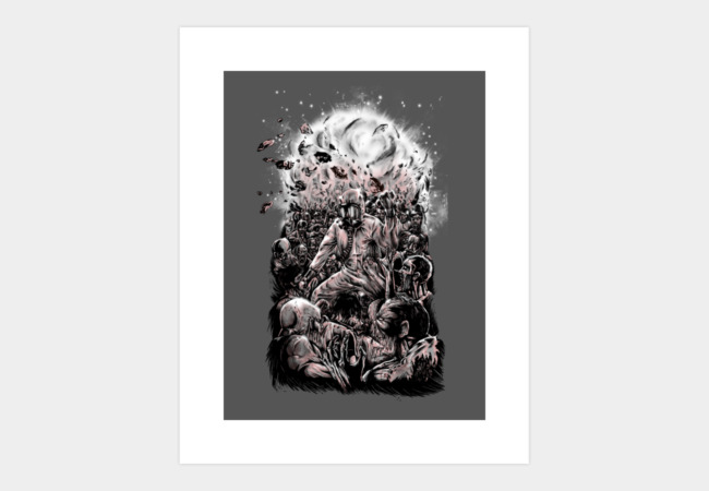 The infected: plan B. Art Print - Design By Humans