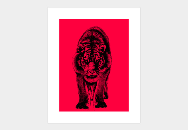 Stare Art Print - Design By Humans