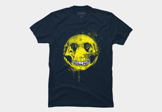 Happy Skull Men's T-Shirt