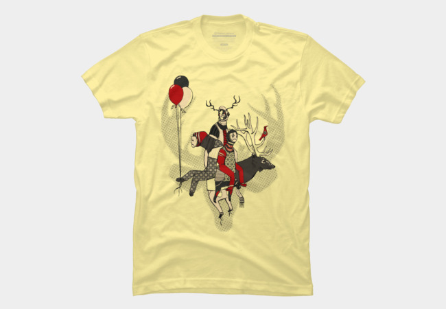 Fawn Memories Men's T-Shirt