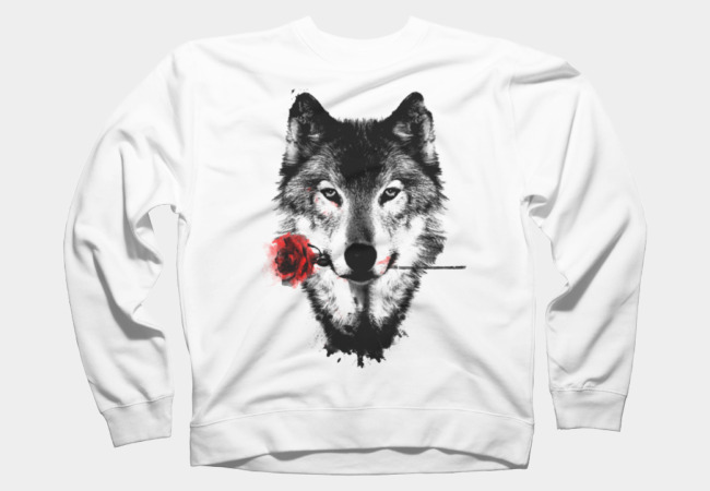 Black Rose Sweatshirt
