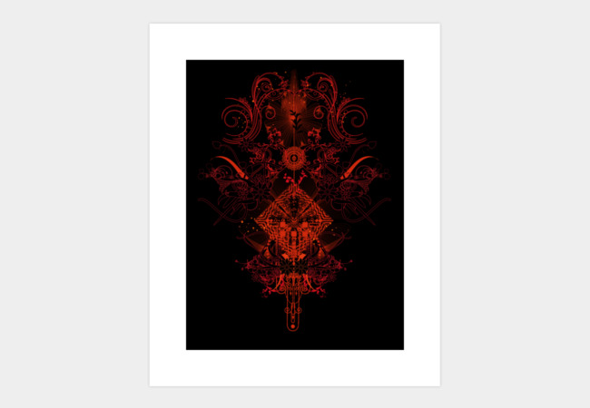 Star collision Art Print - Design By Humans