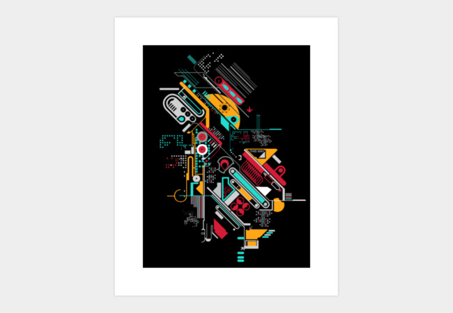 Analog android Art Print - Design By Humans