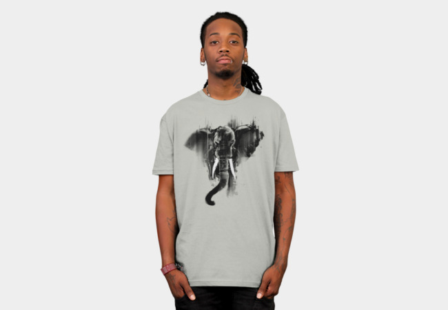Elephont T-Shirt - Design By Humans