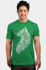 Tribal Fox - White