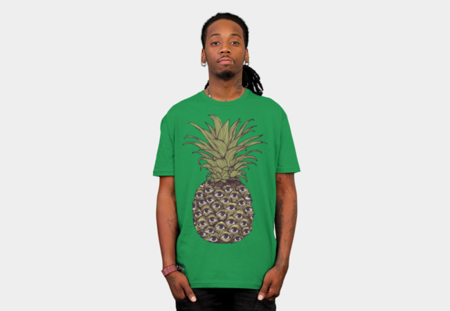 Pineapple Eyes T-Shirt - Design By Humans