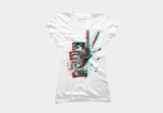 3D TV'S Women's T-Shirt