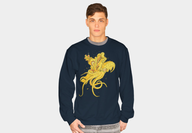 Beatles vs Kraken Sweatshirt - Design By Humans