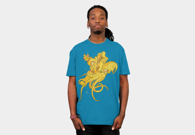 Beatles vs Kraken T-Shirt - Design By Humans