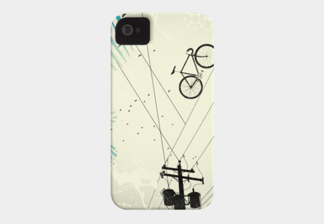 Bike Line Phone Case - Design By Humans