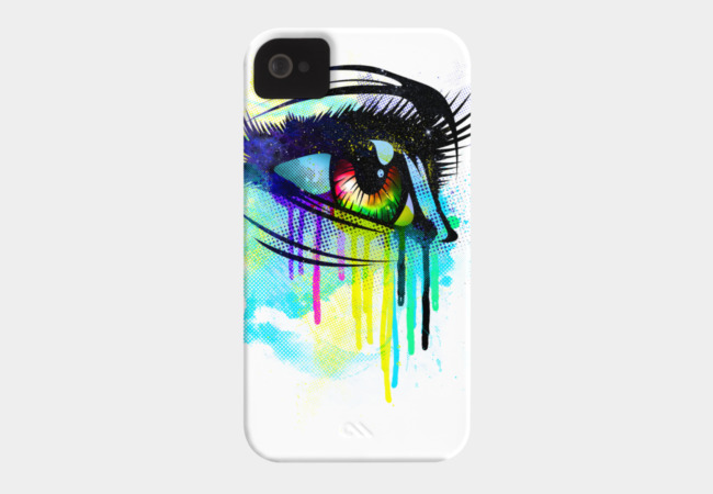 Tears of Colors Phone Case - Design By Humans