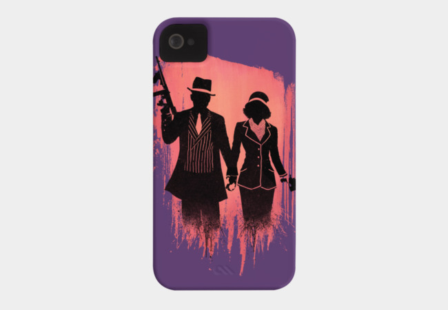 Outlaw lovers Phone Case - Design By Humans
