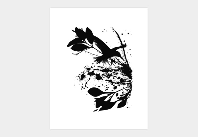 Nature's Matter Art Print - Design By Humans