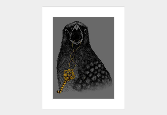 The secret keeper Art Print - Design By Humans