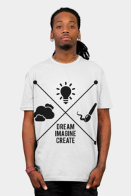 Dream Imagine Create x marks the spot