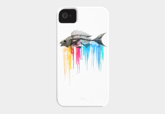 Color Bleed Phone Case - Design By Humans