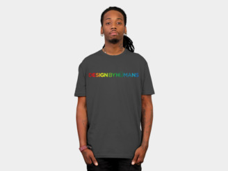 Design By Humans - Multicolored Awesome by DBHstaff