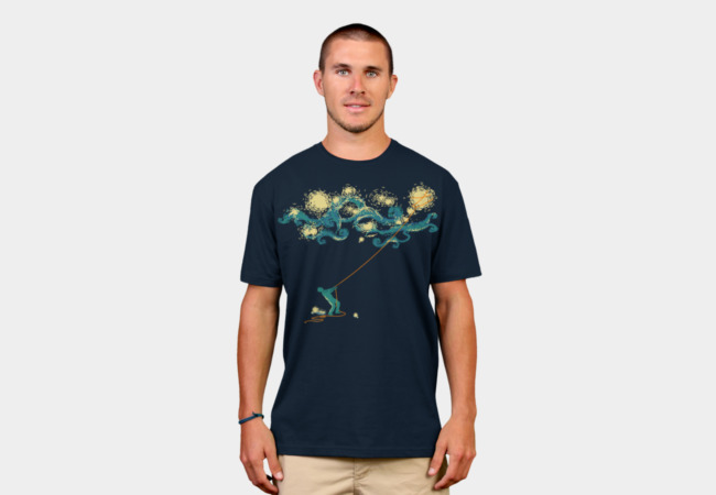 Catch the stars T-Shirt - Design By Humans