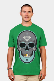 Skull Diamond Grey