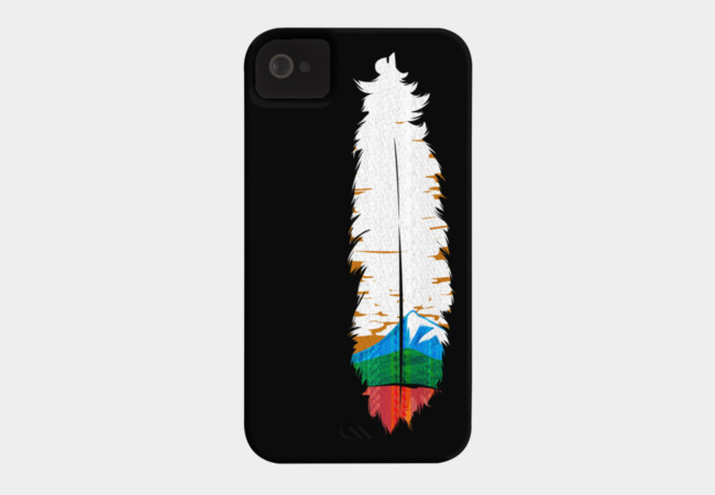 Feather Art Phone Case - Design By Humans