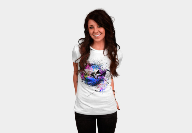 Color Surfer T-Shirt - Design By Humans