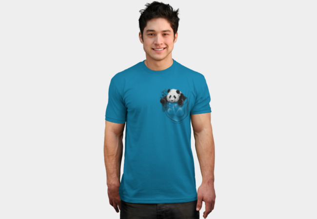 Pocket Panda T-Shirt - Design By Humans