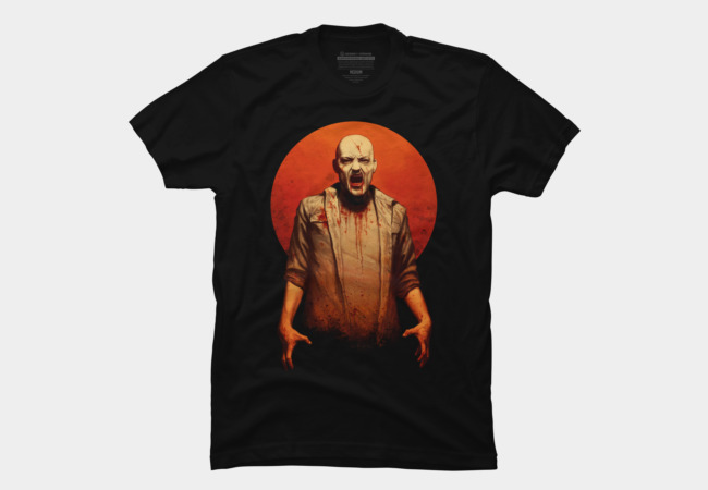 Blood red sun Men's T-Shirt