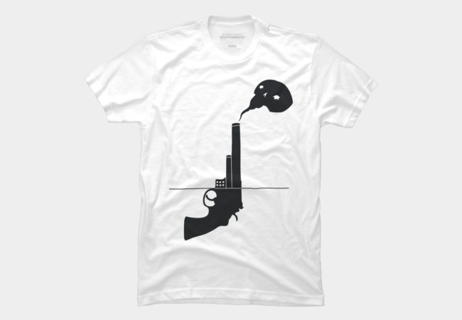 Guns don't kill people Men's T-Shirt