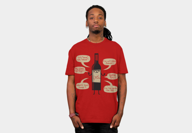 Stop Wine-ing ! T-Shirt - Design By Humans