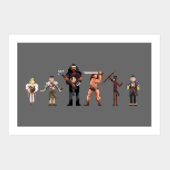 Conan the Pixelated