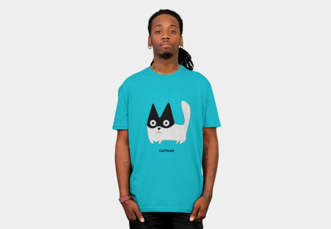 Catman T-Shirt - Design By Humans