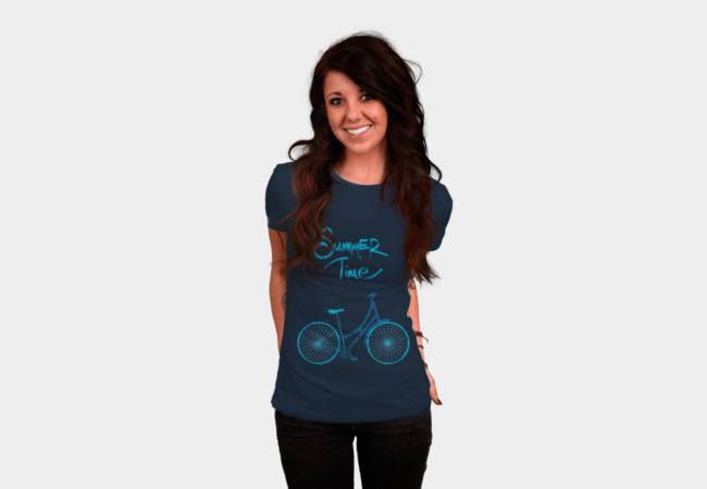 Summer bike T-Shirt - Design By Humans