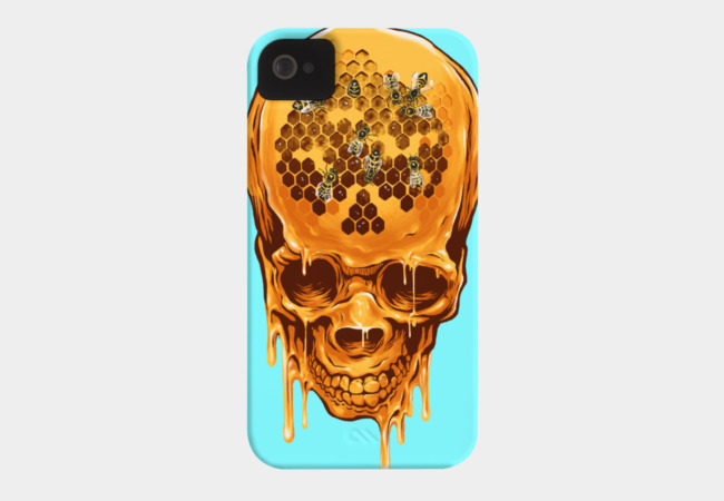 The Yellow Skull Phone Case - Design By Humans