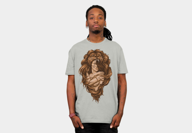 Lion Queen T-Shirt - Design By Humans
