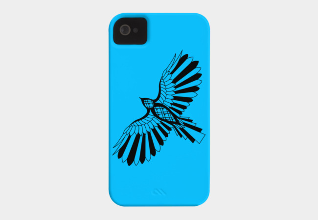 Shadow Hawk Phone Case - Design By Humans