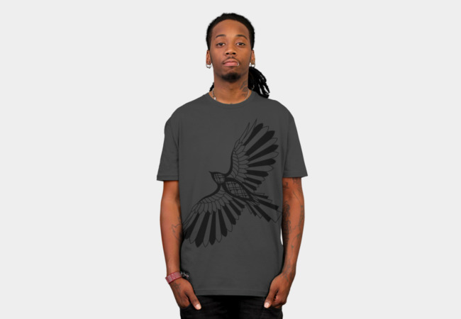 Shadow Hawk T-Shirt - Design By Humans