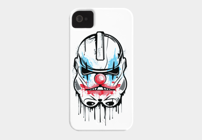 CLOWN TROOPER Phone Case - Design By Humans