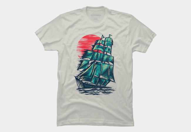 Northern Sunset Men's T-Shirt