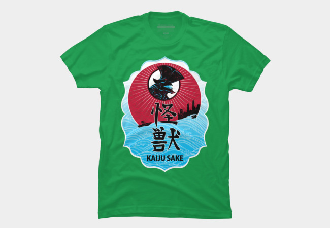 Kaiju Sake Men's T-Shirt