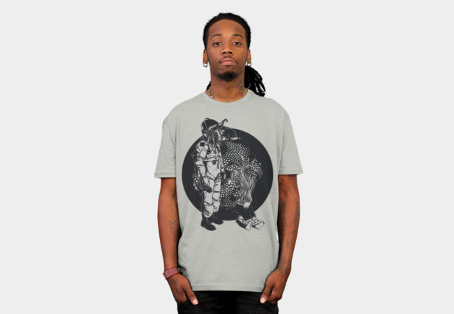 It Came From Inner Space T-Shirt - Design By Humans