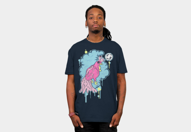 Rooster Heart T-Shirt - Design By Humans