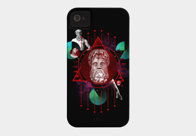 Geometric Gods I Phone Case - Design By Humans
