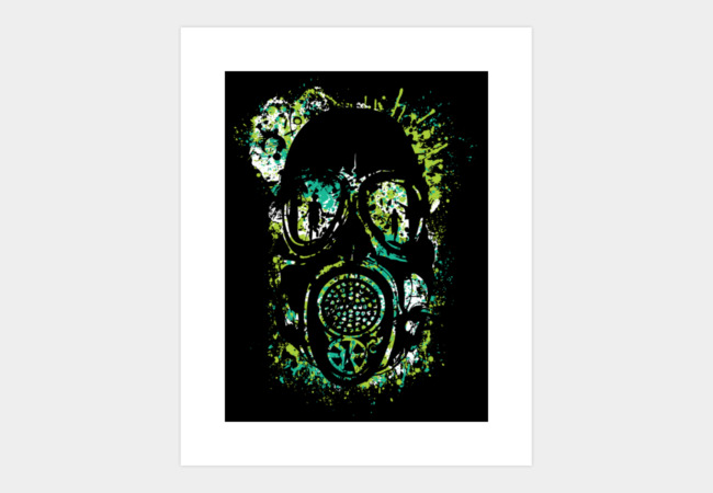 Acid Attack Art Print - Design By Humans