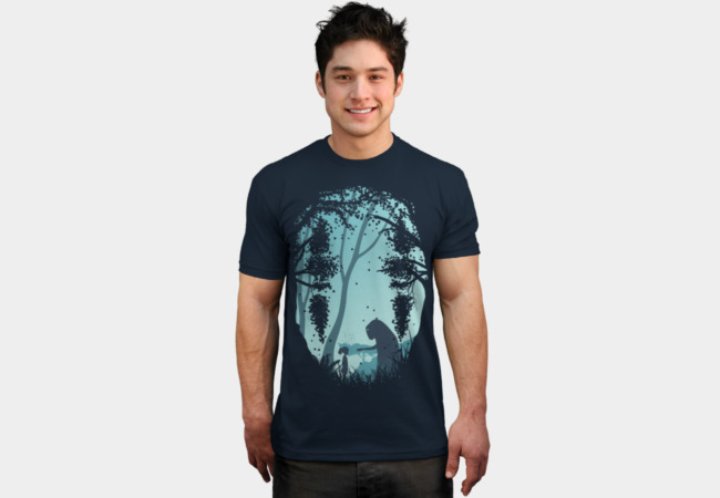 Lonely Spirit T-Shirt - Design By Humans