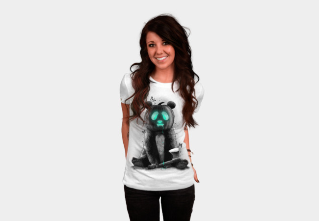 PANDALOWEEN T-Shirt - Design By Humans
