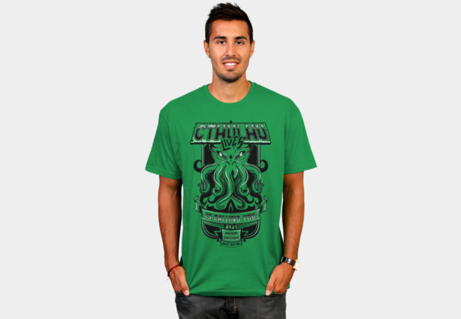 Cthulhu T-Shirt - Design By Humans