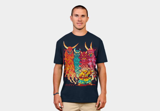 PAKKU-MAN T-Shirt - Design By Humans