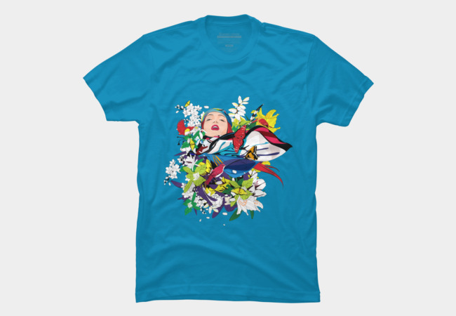 Blossom woman Men's T-Shirt