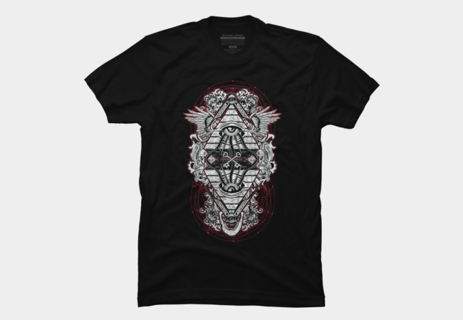 Prying Open My Third Eye Men's T-Shirt