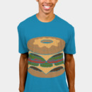messing wearing Donut Burger by messing